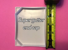 super gutter end cap